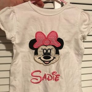 "Other - ""Sadie"" embroidered Minnie shirt"
